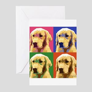 Golden Retriever Pop Art Greeting Cards (Pk of 10)
