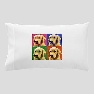 Golden Retriever Pop Art Pillow Case