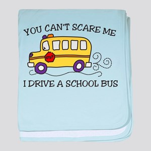 You Cant Scare Me baby blanket