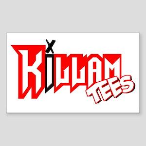 Killam Tees Rectangle Sticker