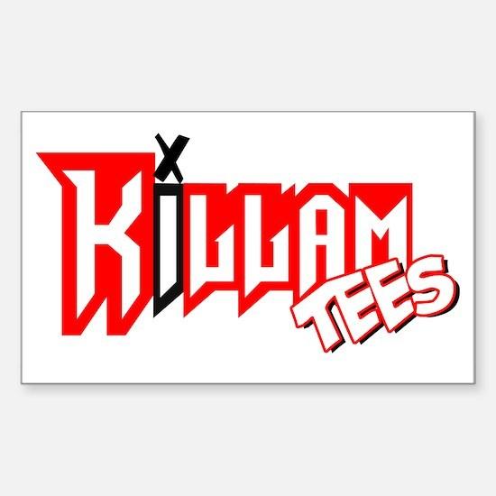 Killam Tees Rectangle Decal