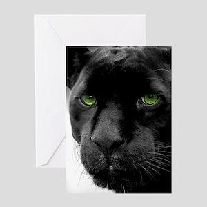 Black Panther Greeting Cards