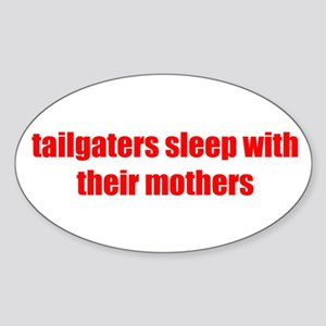Tailgaters Oval Sticker