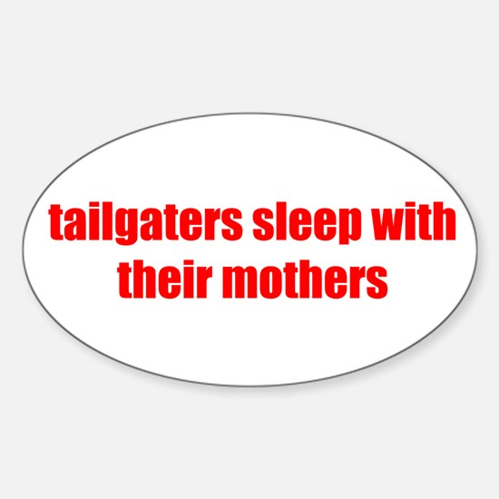 Tailgaters Oval Decal