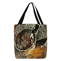 Feeding Time! Polyester Tote Bag