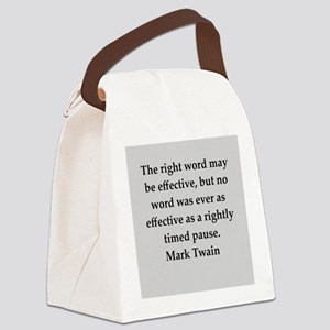 165 Canvas Lunch Bag