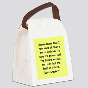 crock11 Canvas Lunch Bag