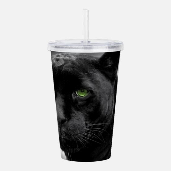 Black Panther Acrylic Double-wall Tumbler