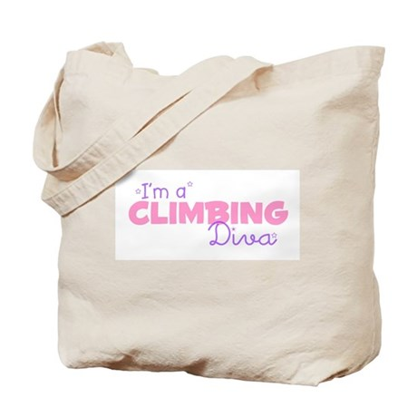 I'm a Climbing diva Tote Bag