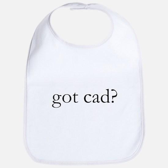 got cad? Bib