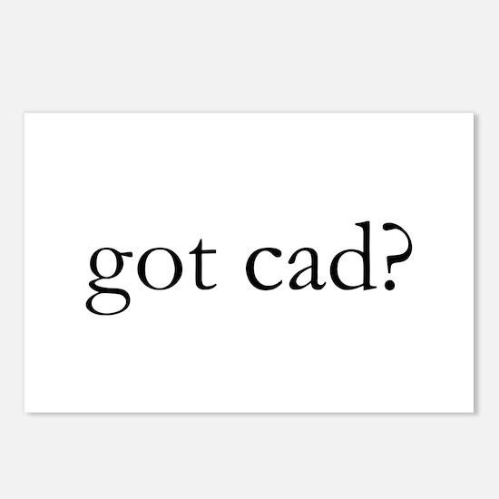 got cad? Postcards (Package of 8)
