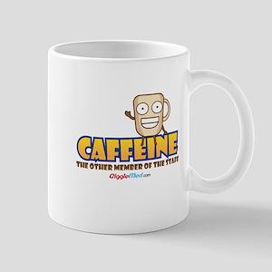 Caffeine on Staff 3 Mugs