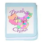 Zhushan China baby blanket