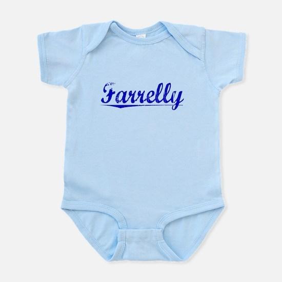 Farrelly, Blue, Aged Infant Bodysuit