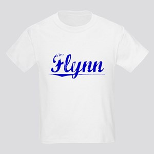 Flynn, Blue, Aged Kids Light T-Shirt