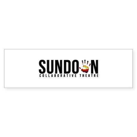Sundown Collaborative Theatre Logo Sticker (Bumper