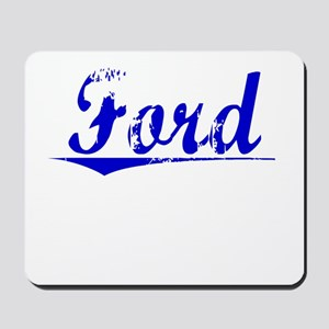 Crawford, Blue, Aged Mousepad