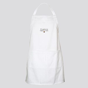 It's Against My Religion To Hate Apron
