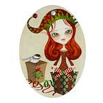 Jollybelle Christmas Ornament (Oval)