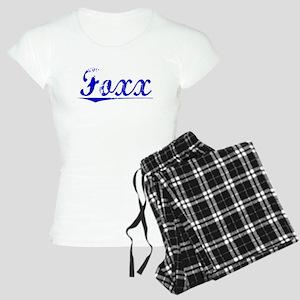 Foxx, Blue, Aged Women's Light Pajamas