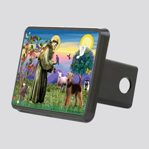 St Francis / Airedale Rectangular Hitch Cover