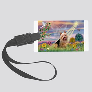 CLOUD ANGEL / AUSTER Large Luggage Tag