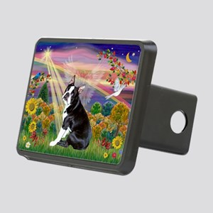 Autumn Angel & Boston Rectangular Hitch Cover