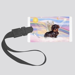 Wire Haired Doxie Large Luggage Tag