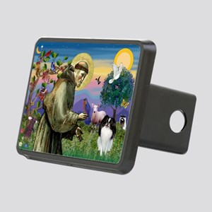 St Francis / Japanese Chin Rectangular Hitch Cover