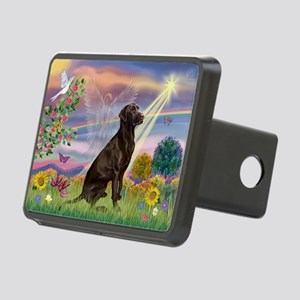 Cloud Angel / Lab (c) Rectangular Hitch Cover