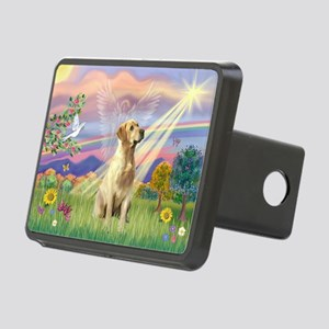 Cloud Angel / Lab (y) Rectangular Hitch Cover