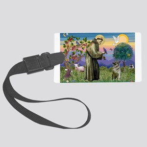 St Francis / Nor Elk Large Luggage Tag