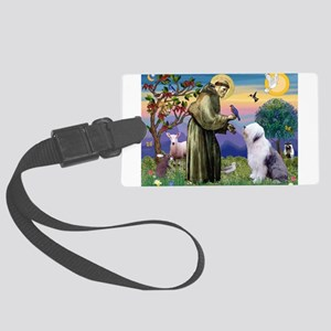 ST. FRANCIS + OES Large Luggage Tag