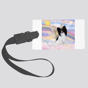 Papillon (#1) Angel Large Luggage Tag