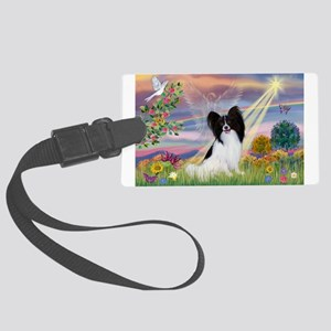 Cloud Angel & Papillon Large Luggage Tag