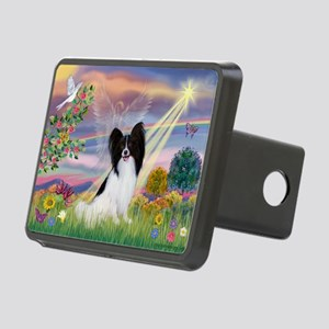 Cloud Angel & Papillon Rectangular Hitch Cover