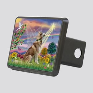 Cloud Angel & Husky Rectangular Hitch Cover