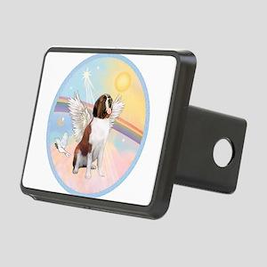 St. Bernard Angel Dog Rectangular Hitch Cover