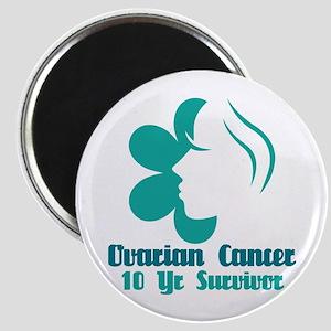 Ovarian Cancer 10 Year Survivor Magnet