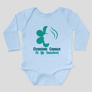 Ovarian Cancer 10 Year Survivor Long Sleeve Infant