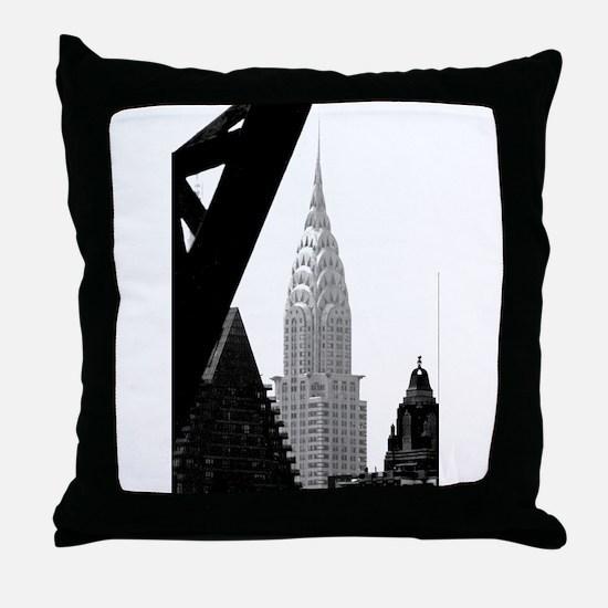 Chrysler No.png Throw Pillow
