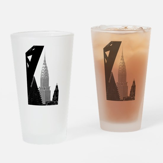Chrysler No.png Drinking Glass