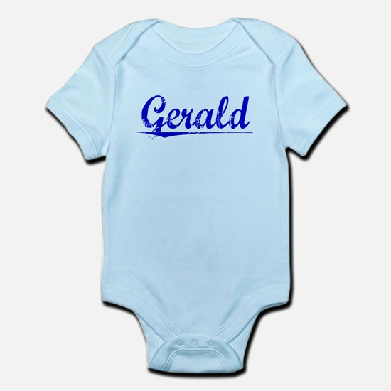 Gerald, Blue, Aged Infant Bodysuit
