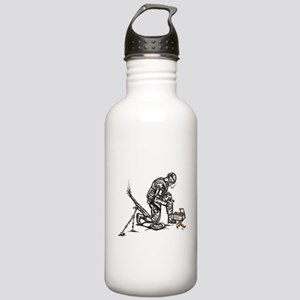 Carrot Mortar Stainless Water Bottle 1.0L