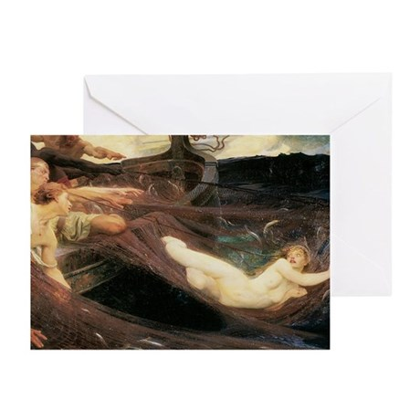 The Sea Maiden Greeting Cards (Pk of 10)