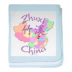 Zhuxi China baby blanket