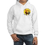 Miami Beach Rising Cock Hooded Sweatshirt