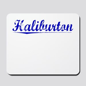 Haliburton, Blue, Aged Mousepad