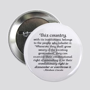 """Revolutionary Right""2.25"" Button (100 pack)"