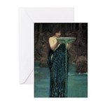 Circe Invidiosa Greeting Cards (Pk of 20)